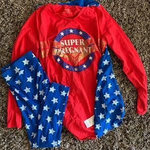 Super pregnant costume
